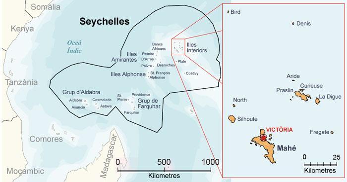 Seychellen Malediven Karte.Seychellen Karte